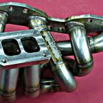 Exhaust manifold for sr20det T4 twin scroll