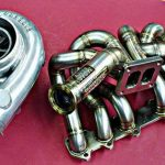 Exhaust Manifold 2jzgte T4 twinscroll for Toyota Supra