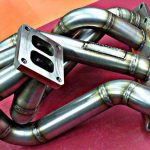 Exhaust manifold for the mr2