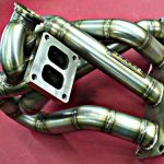 Toyota mr2 3sgte twinscroll efr7670 header