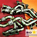 e31 bmw850 v12 longtube exhaust manifolds kit