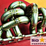 Exhaust manifold for 2jzgte gtx45